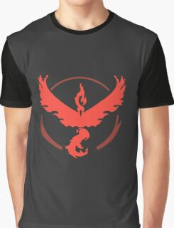 Pokemon Team Valor - Dark Graphic T-Shirt