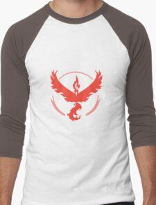 Pokemon Team Valor - Dark Men's Baseball ¾ T-Shirt
