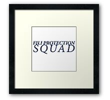 Fili Protection Squad Framed Print