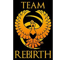 Team Rebirth - Black Photographic Print