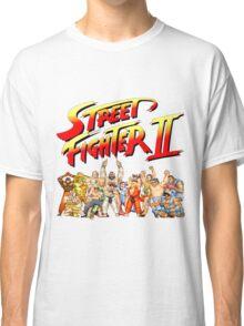 Street Fighter II Arcade Group Shot Tee  Classic T-Shirt