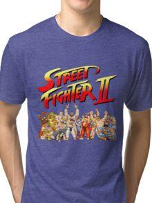 Street Fighter II Arcade Group Shot Tee  Tri-blend T-Shirt