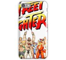 Street Fighter II Arcade Group Shot Tee  iPhone Case/Skin