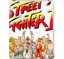 Street Fighter II Arcade Group Shot Tee  iPad Case/Skin