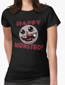 Happy Monstro! Womens Fitted T-Shirt