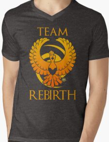Team Rebirth - Black Mens V-Neck T-Shirt