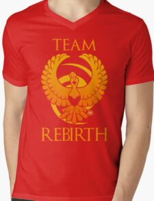 Team Rebirth - Black Mens V-Neck T-Shirt