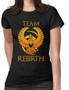 Team Rebirth - Black Womens Fitted T-Shirt