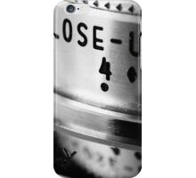 close ups iPhone Case/Skin