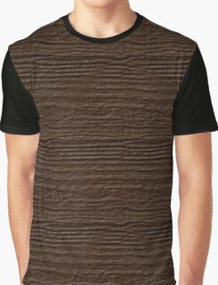 Carafe Wood Grain Texture Graphic T-Shirt