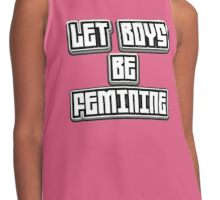 Let Boys Be Contrast Tank