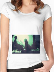 A.I. Women's Fitted Scoop T-Shirt