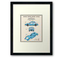 Automobile Body Patent Framed Print