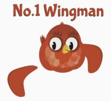 No.1 Wingman   Broken Wing by piedaydesigns