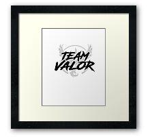 Pokemon Go Team Valor Framed Print