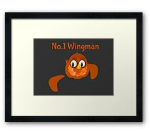 No.1 Wingman | Broken Wing Framed Print