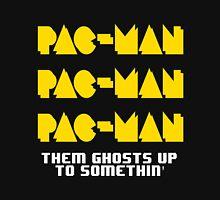 PACMAN/Jumpman White Unisex T-Shirt