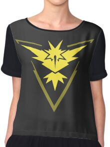 Pokemon Team Instinct - Dark Chiffon Top