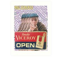 Mac Demarco Viceroy Open  Art Print