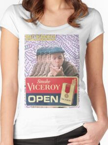 Mac Demarco Viceroy Open  Women's Fitted Scoop T-Shirt