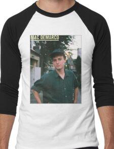 Mac Demarco zine cover Men's Baseball ¾ T-Shirt