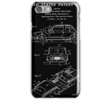 Automobile Body Patent - Black iPhone Case/Skin