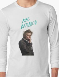 Mac DeMarco Singing  Long Sleeve T-Shirt