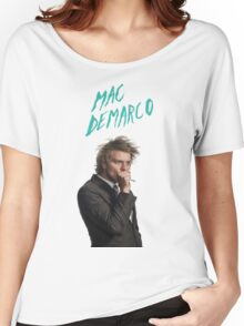 Mac DeMarco Singing  Women's Relaxed Fit T-Shirt