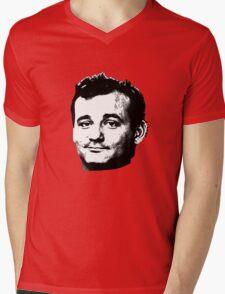 Bill Murray Face Mens V-Neck T-Shirt