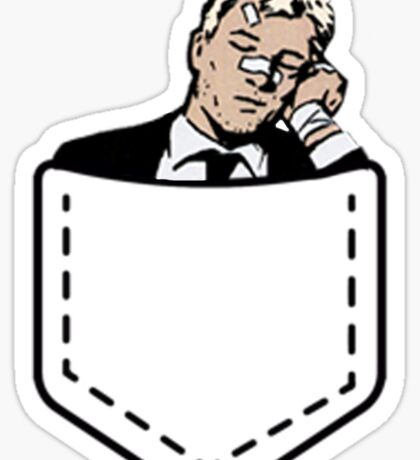 Sleeping Clint Barton Sticker