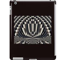 Abstract vintage painting design iPad Case/Skin