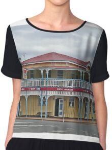 Hotel Radnor, Blackbutt, Queensland, Australia Chiffon Top