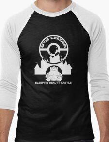 Poke-GO: Sleeping Beauty's Castle Gym Leader Men's Baseball ¾ T-Shirt
