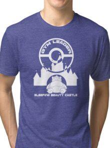 Poke-GO: Sleeping Beauty's Castle Gym Leader Tri-blend T-Shirt