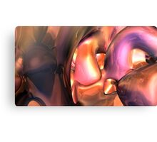 Twisted Fractal II Canvas Print