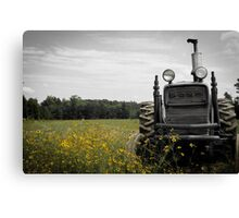 My Old Tractor Canvas Print