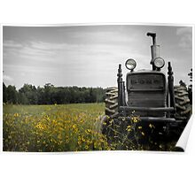 My Old Tractor Poster