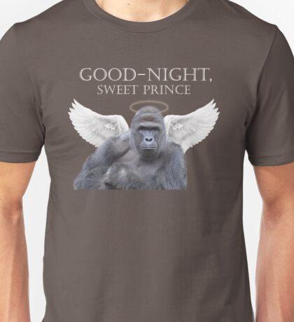 Good-Night, Sweet Harambe Unisex T-Shirt