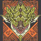 Hunting Club: Rathian by MeleeNinja