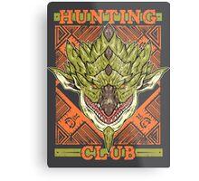 Hunting Club: Rathian Metal Print