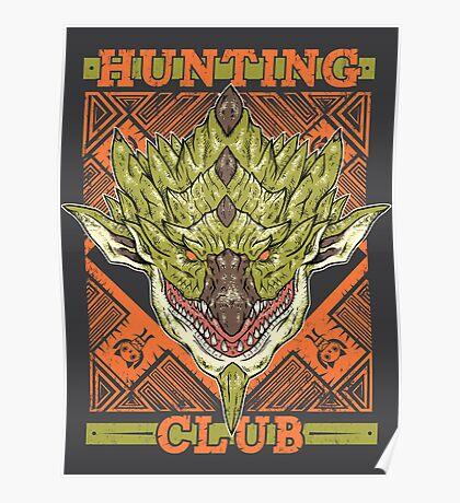Hunting Club: Rathian Poster