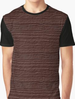 Fudgesickle Wood Grain Texture Graphic T-Shirt