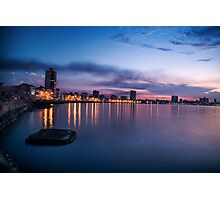 Havana Water Front Photographic Print