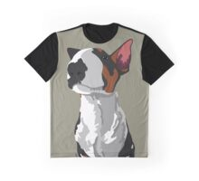 Elijah Bull Terrier Graphic T-Shirt