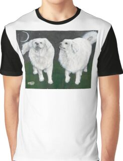 Great Pyrenees Dogs Pet Cathy Peek Animals Graphic T-Shirt