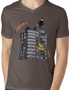 Rudy 2's Sweater Mens V-Neck T-Shirt