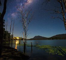 The Milky Way over the Scenic Rim by McguiganVisuals