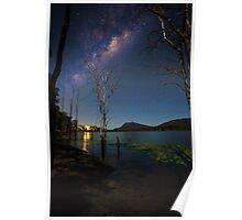 The Milky Way over the Scenic Rim Poster
