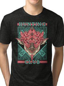 Hunting Club: Pink Rathian  Tri-blend T-Shirt