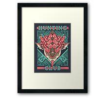 Hunting Club: Pink Rathian  Framed Print